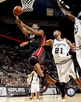 Udonis Haslem 2007-08 Action Fine-Art Print
