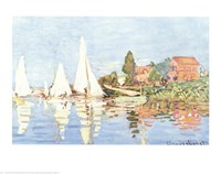 Boating at Argenteuil Fine-Art Print