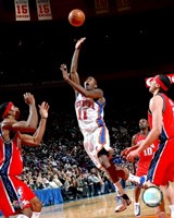 Jamal Crawford 2007-08 Action On The Court Fine-Art Print