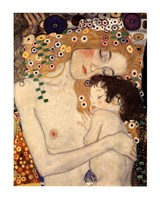 Three Ages of Woman - Mother and Child, c.1905 (detail) Fine-Art Print
