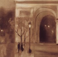 Seine Twilight Detail Fine-Art Print