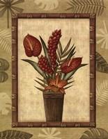 Paradisio Bouquet I - Mini Fine-Art Print