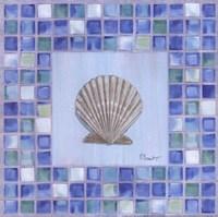 Mosaic Scallop Fine-Art Print