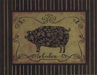 le Cochon Fine-Art Print