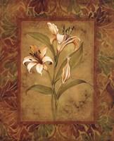 Garden Lilies I Fine-Art Print