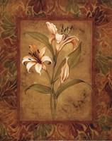 Garden Lilies I - mini Fine-Art Print
