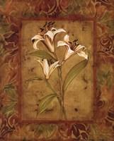 Garden Lilies II Fine-Art Print