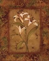 Garden Lilies II - mini Fine-Art Print