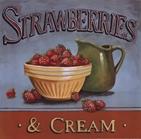 Strawberries & Cream Fine-Art Print