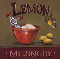 Lemon Meringue Fine-Art Print