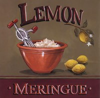 Lemon Meringue - Mini Fine-Art Print
