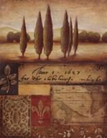 Renaissance Landscape I Fine-Art Print