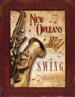 New Orleans Jazz II Fine-Art Print