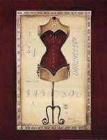 Taille de Robe I - special Framed Print