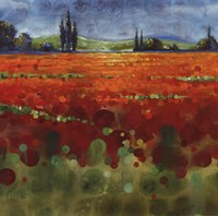 Spring Meadows II - mini Fine-Art Print