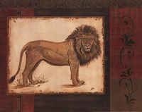 Savanna Lion Fine-Art Print