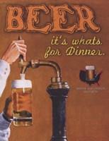 Beer It's What's for Dinner Fine-Art Print