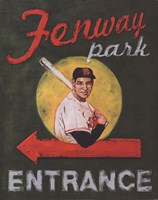 Fenway Park Entrance Fine-Art Print