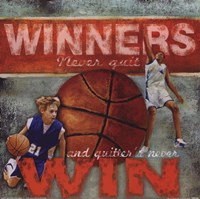 Winners - Basketball Fine-Art Print