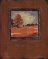 Copper Landscape I Fine-Art Print