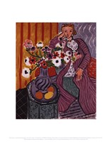 Purple Robe and Anemones, 1937 Fine-Art Print
