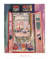 The Open Window, Collioure, 1905 Fine-Art Print