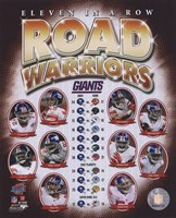 "The New York Giants ""Road Warriors"" Composite (#66) Fine-Art Print"