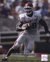 Adrian Peterson University of Oklahoma Sooners 2005 Action Fine-Art Print