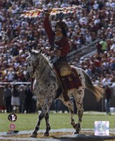 Florida State University - Chief Osceola the Seminoles Mascot, 2006 Fine-Art Print