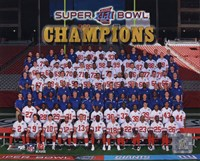 The New York Giants 2007 team photo (#83) Fine-Art Print