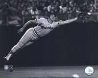 Brooks Robinson - 1973 Diving Catch, B&W Fine-Art Print