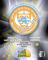 Lady Volunteers, Tennessee - 2008 NCAA Final Four Women's Logo Photo Fine-Art Print