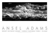 Mt. McKinley Range (embossed) Fine-Art Print