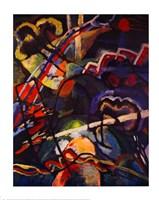 Composition Storm Framed Print