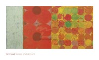 Flowers and Dots #1 Fine-Art Print