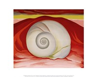 Red Hills and White Shell, 1938 Fine-Art Print