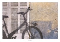 Bicycle Arriving Fine-Art Print