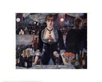Bar at the Folies Bergere Fine-Art Print