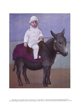 Paulo on a Donkey Fine-Art Print