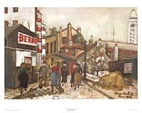 La Maison Bernot Fine-Art Print
