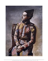 Portrait of a Harlequin Fine-Art Print