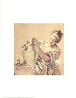 Girl with Jug Fine-Art Print