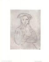 Girl in Beret Fine-Art Print