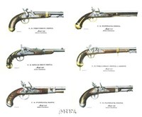 Authentic Early American Pistols (Set 6) Fine-Art Print