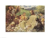 Christ and the Little Children Fine-Art Print
