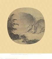 Gentlemen Gazing At a Waterfall Fine-Art Print