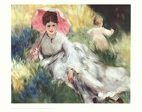 Woman with a Parasol Fine-Art Print