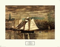Gloucester Schooners and Sloop Fine-Art Print