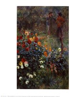 Garden in the Rue Cortot, Montmartre Fine-Art Print