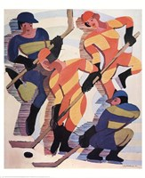 Hockey Players Fine-Art Print